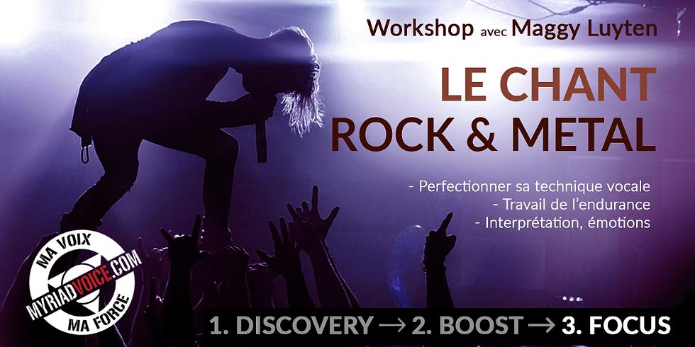 BE Dinant / Le chant ROCK & METAL ! / Module 3