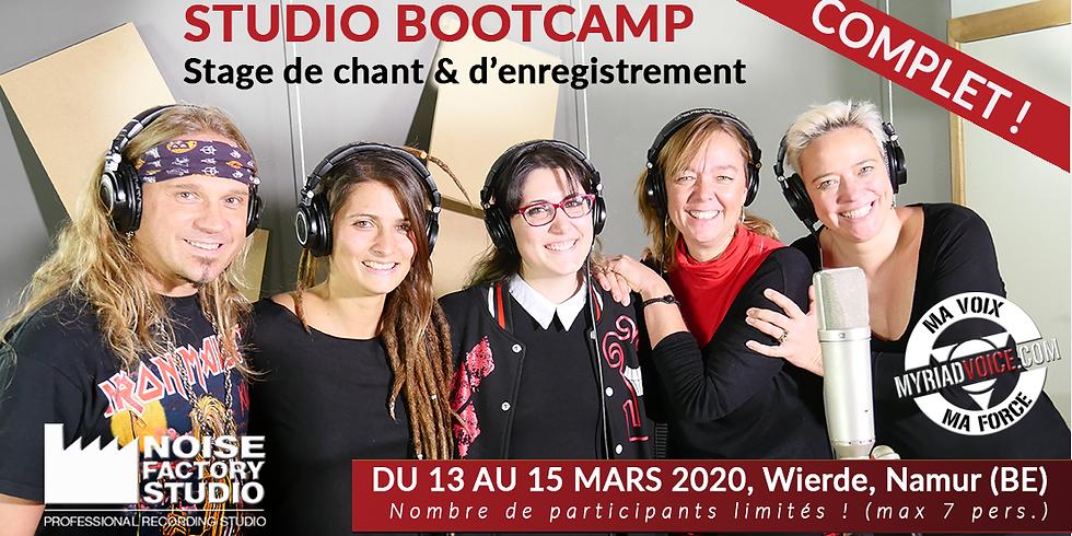 BE Namur / Studio Bootcamp 9