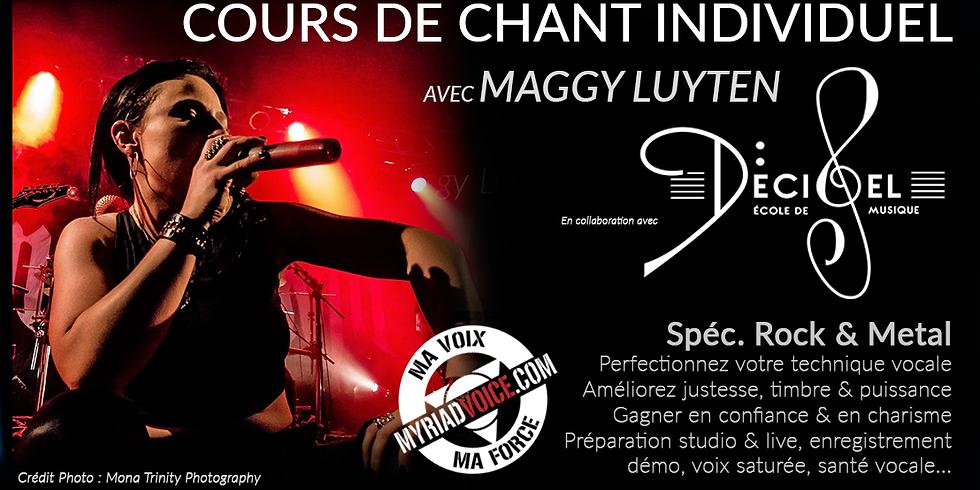 FR Lyon / Cours de chant individuels / Spec. Rock & Metal (2)