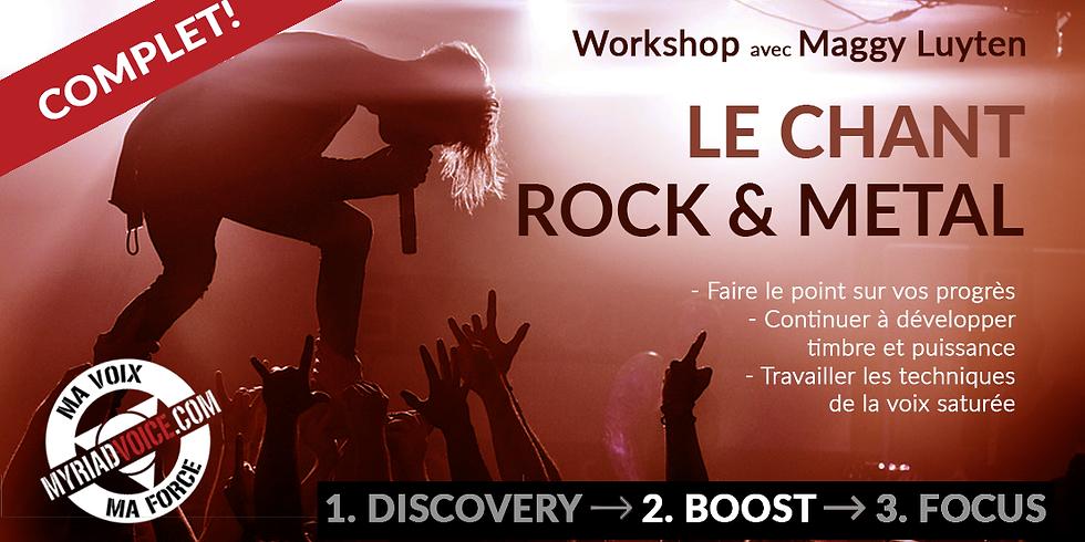 BE Dinant / Le chant ROCK & METAL ! / Module 2