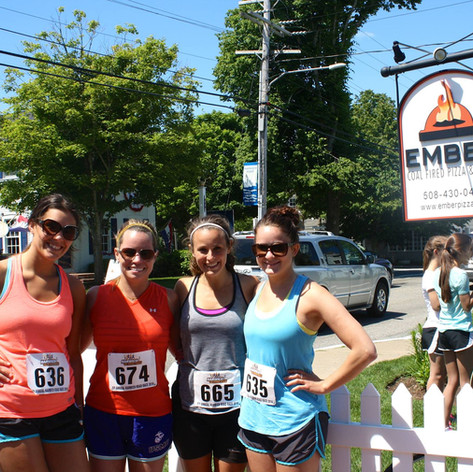 Ember Pizza Cape Cod Race Day