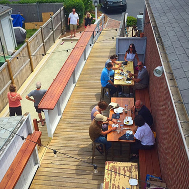 Port Back Deck Dining + Bocce