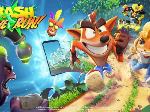 Nuevo Gameplay de Crash Bandicoot On the Run!