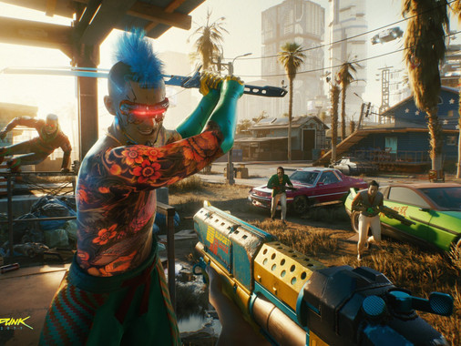 Cyberpunk 2077 incluye advertencia sobre la epilepsia en PC