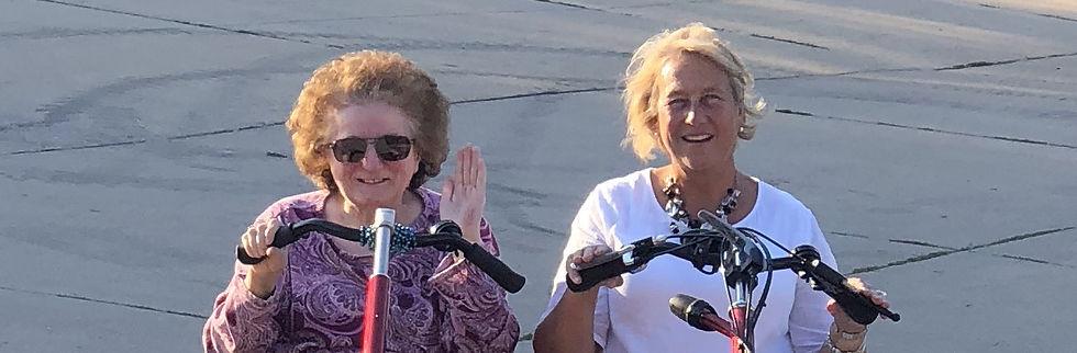 Anne and Anne Marie - Bike Ride_skinny e