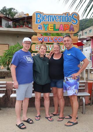 Friends visiting Yelapa!