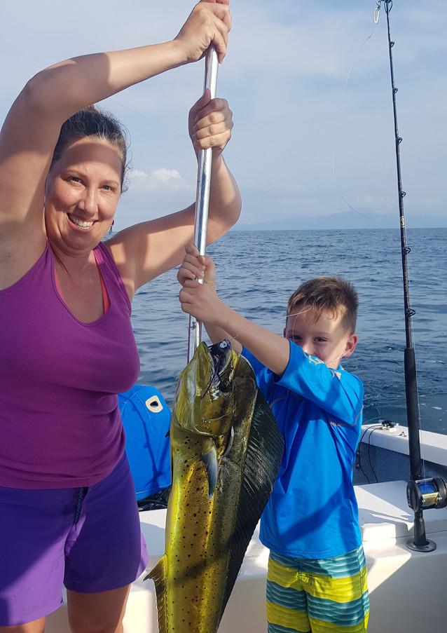 Children can also Fish