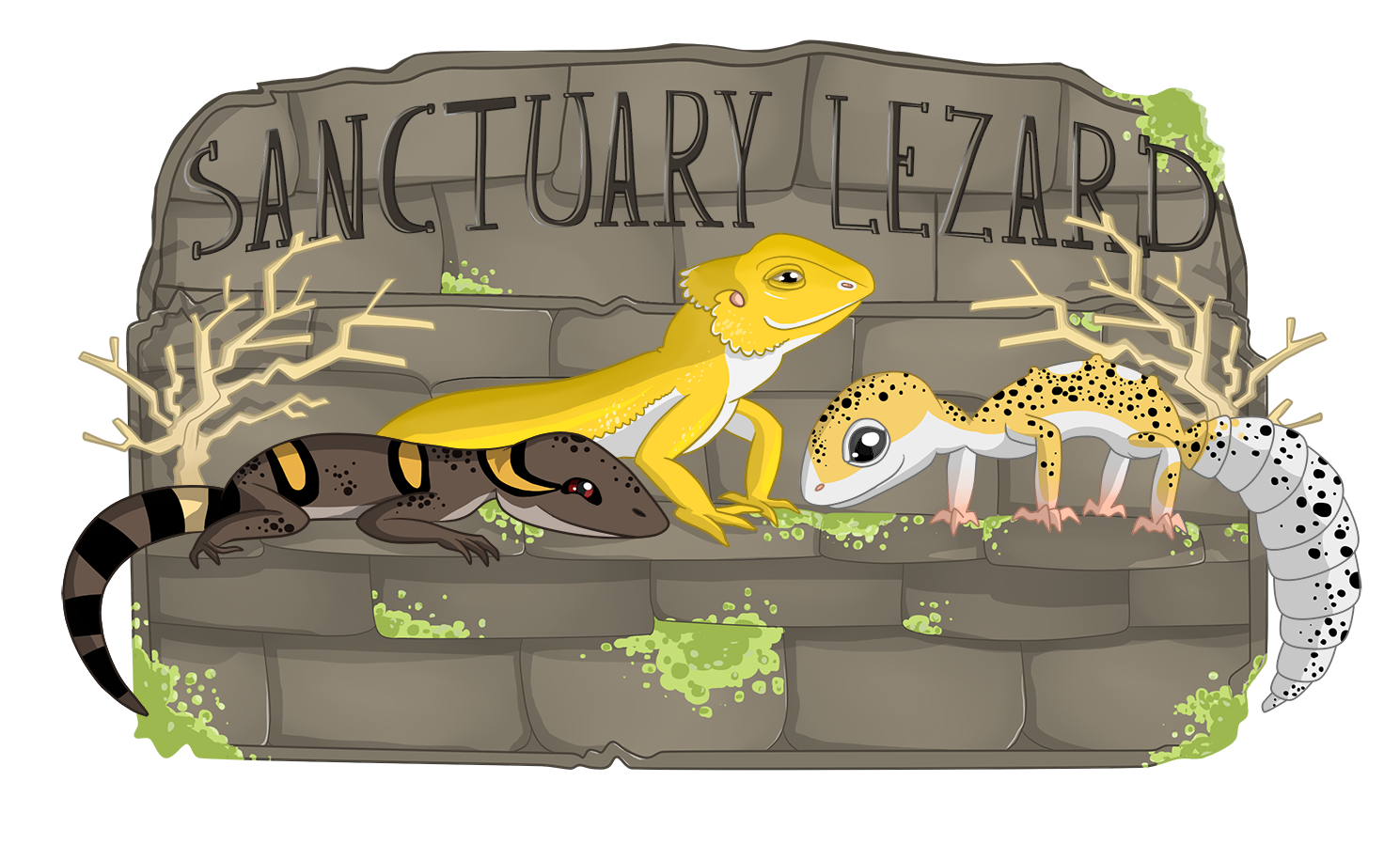 Logo Sanctuary Lezard - 2017
