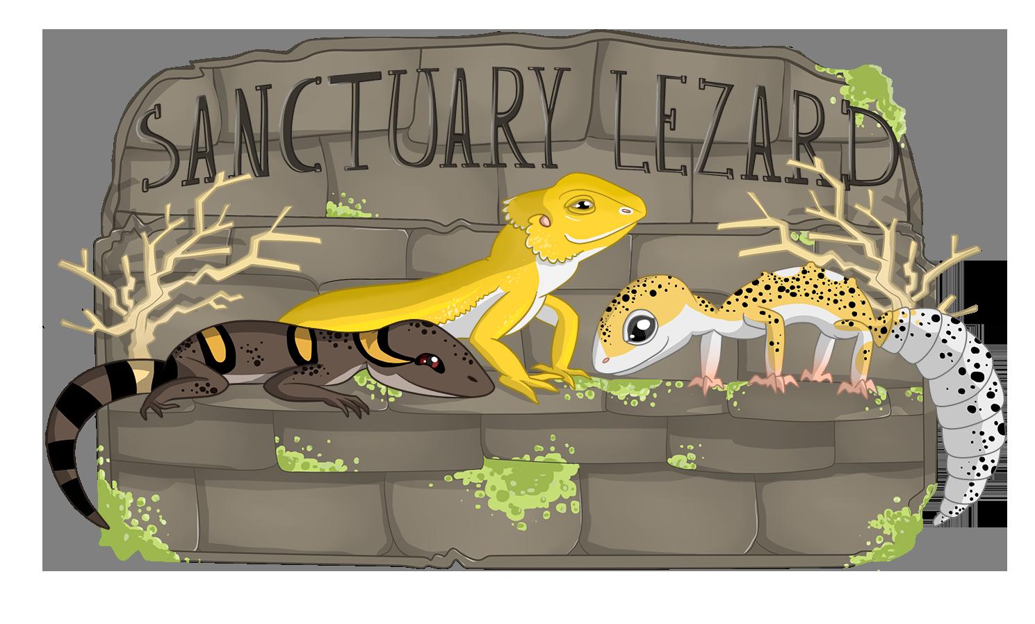 Logo Sanctuary Lezard - 2017