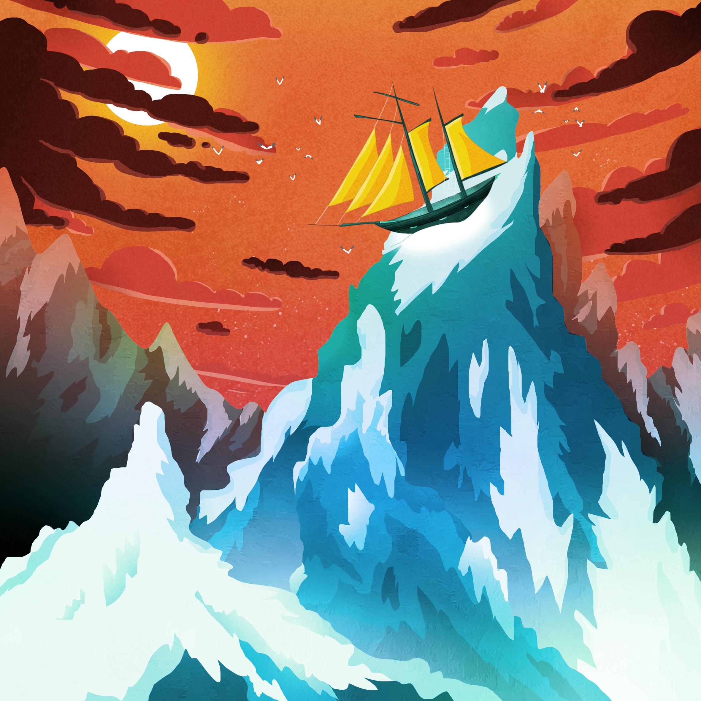 Montagne glacée - 2017