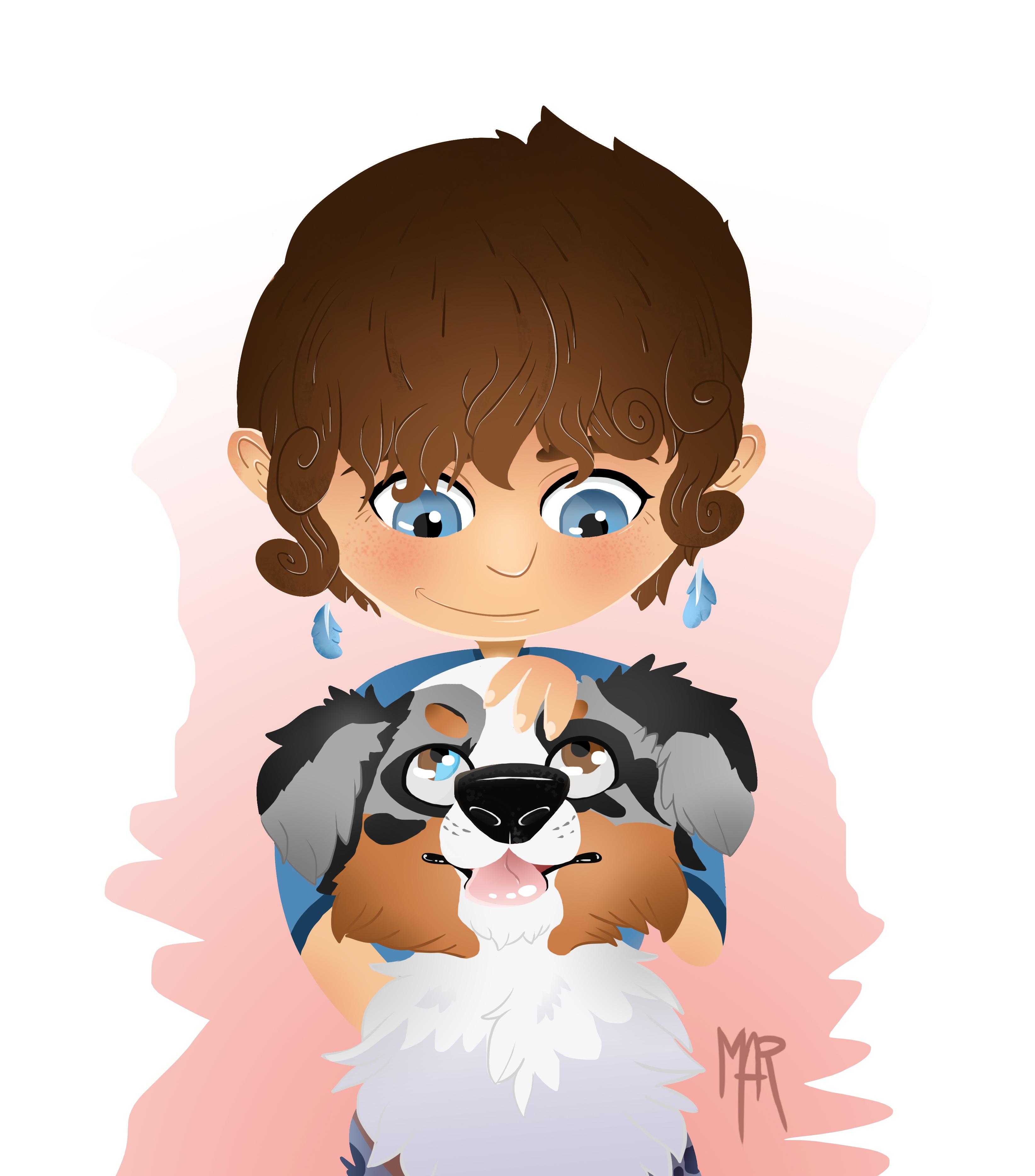 Moi et mon chien - 2017