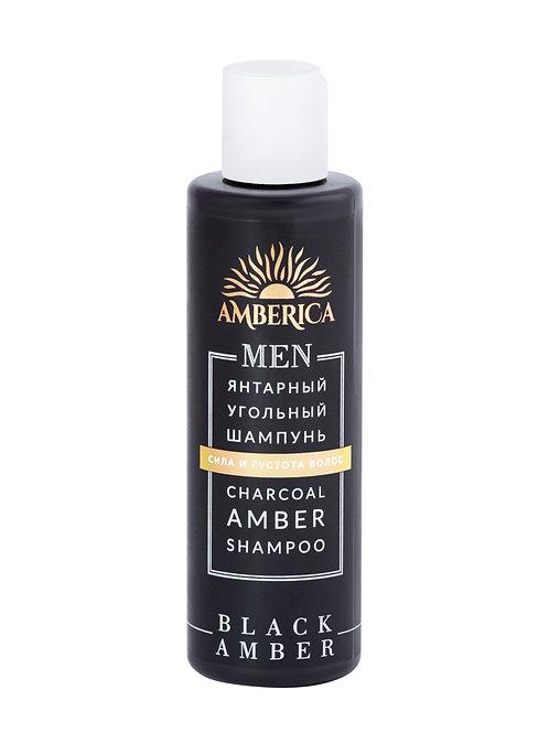 Угольный шампунь мужской 200 ml