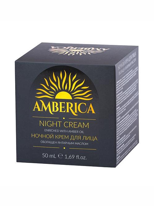 Янтарный ночной крем для лица 50 ml