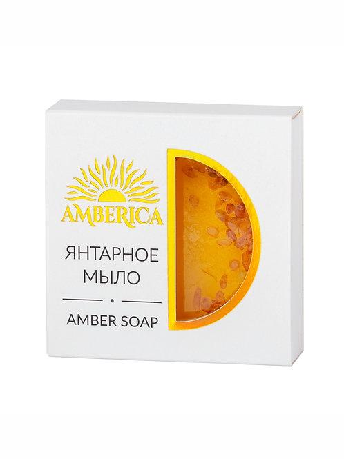 Янтарное мыло с кусочками янтаря 50 g