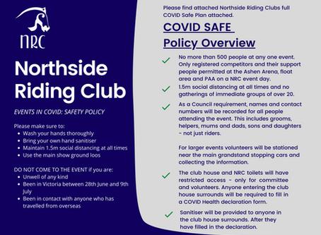 Northside Riding Club COVID Safe Plan