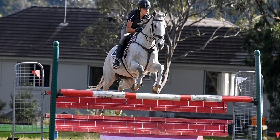 NRC flatwork and jumping clinic with Jonathan Angeli