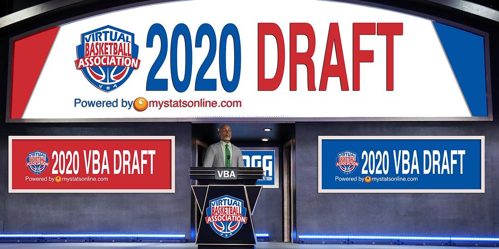 VBA 2020 Player Draft