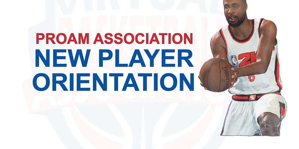 New Player Orientation