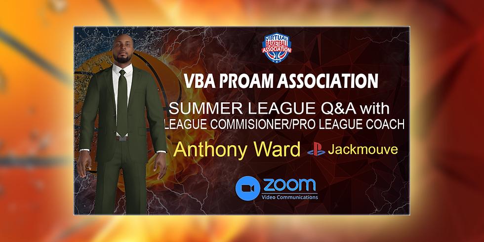 VBA ProAm Association Summer League Q&A (1)