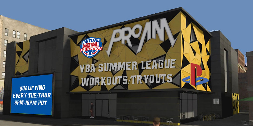 All VBA Summer Workout Games (TUE)