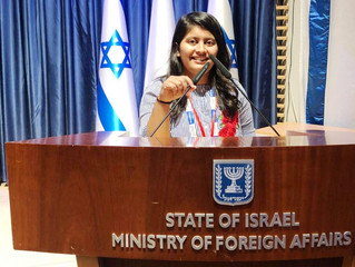 इजरायल में तिरंगा लहरा जोधपुर पहुंची भारत की बेटी के स्वागत में गूंजे देश भक्ति तराने
