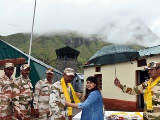 भारत की बेटी पार्वती का हिमवीरों के साथ राखी पर्व, 12000 फिट से भी ज्यादा उंचाई पर तैनात जवानों के ब