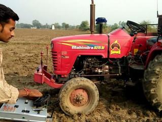 किसान के बेटे ने किया बिना ड्राइवर के ट्रैक्टर चलाने वाले रिमोट का आविष्कार