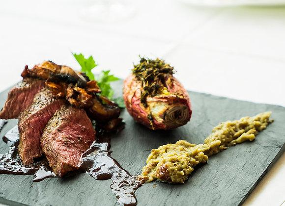 Wild Venison Haunch steak - min 6oz (170g)