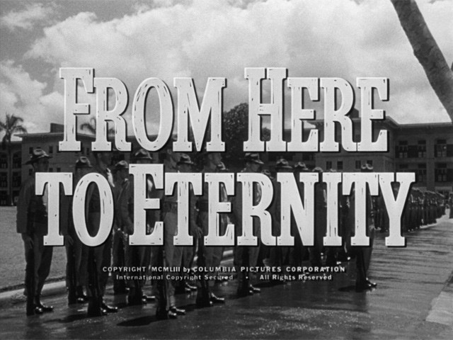 Film Noir Cocktail Series Installment 3: From Here to Eternity