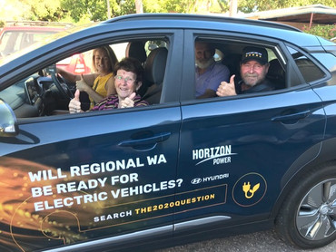 Electric Vehicle being Tested in the Kimberley