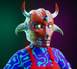 Horny alien