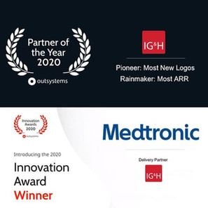 IG&H recognised as Partner of the Year EMEA by OutSystems