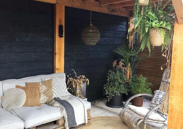 overkapping buitenkamer interieur stylis