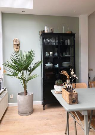 open keuken eetkamer interieur stylist