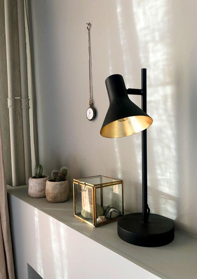 slaapkamer bedlamp interieur stylist