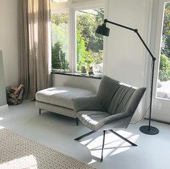 huiskamer fauteuil interieur stylist