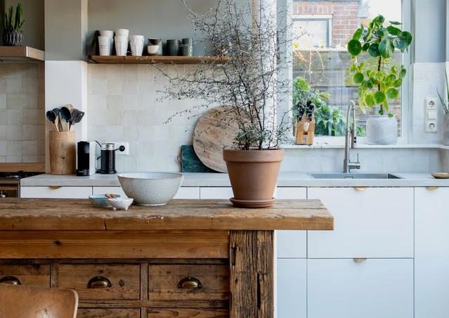 open keuken werkbank interieur stylist