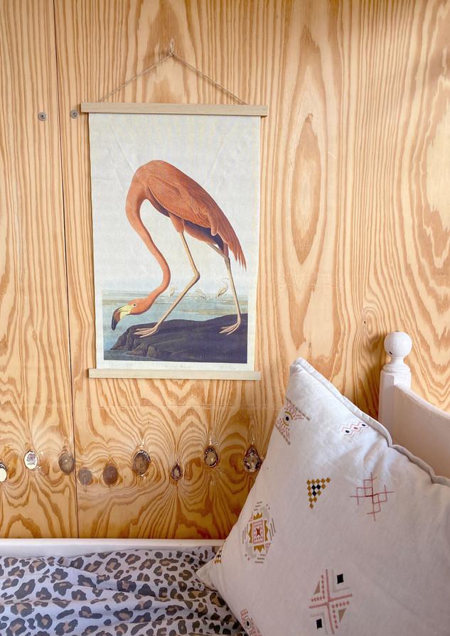 meisjeskamer flamingo interieur stylist