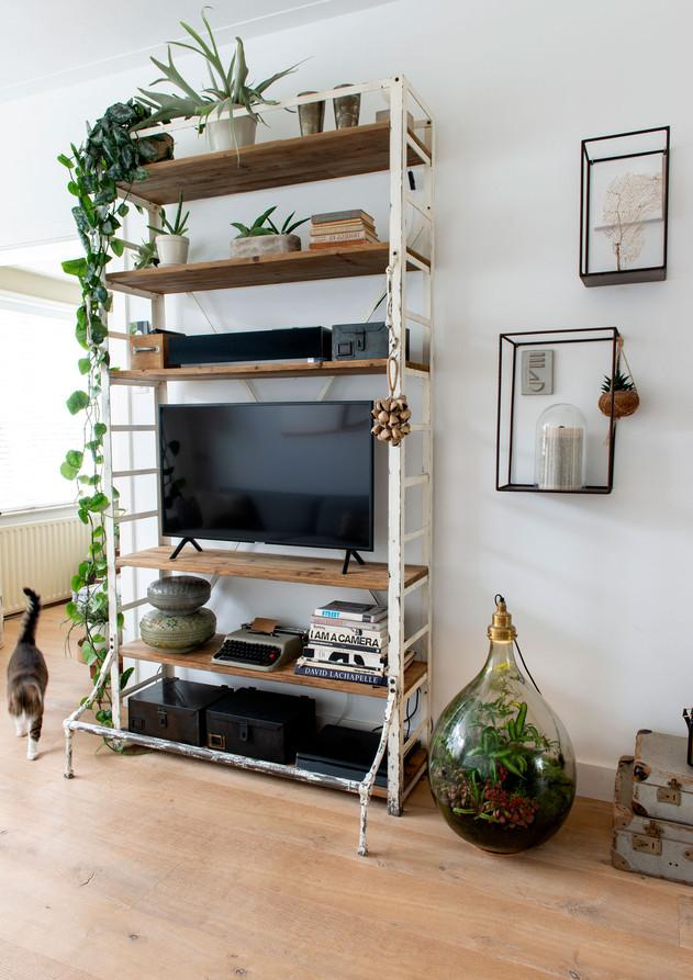 huiskamer stellingkast interieur stylist