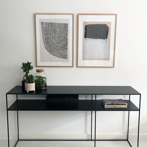 huiskamer sidetable interieur stylist