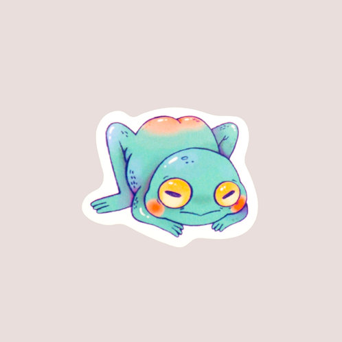 Mini Froggy Sticker