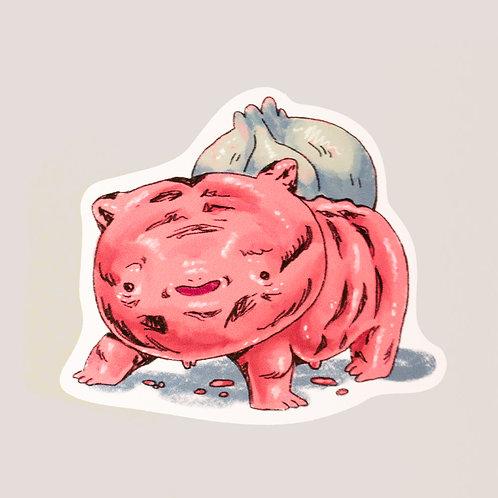 Fleshman Sticker
