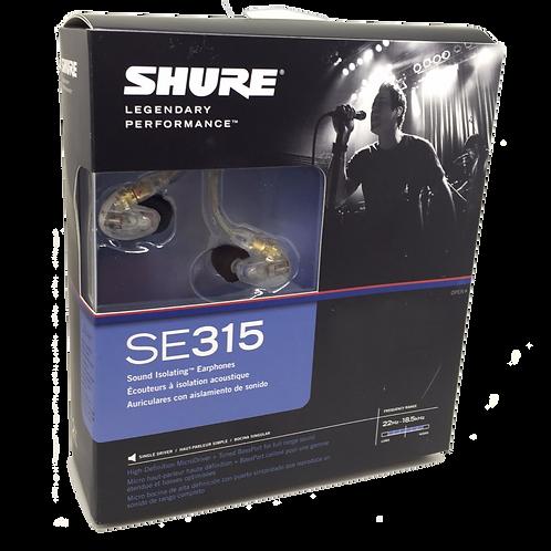 Shure SE315 (Auriculares para monitoreo)