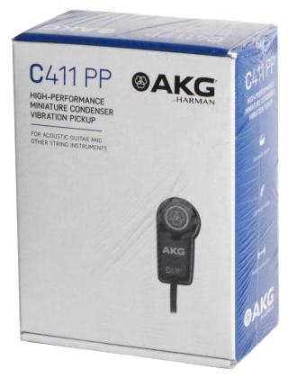 Akg C411PP (Micrófono Contacto Para Instrumentos)