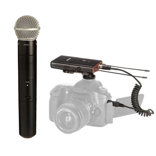 Shure FP25/SM58 (Sistema Inalámbrico portable)