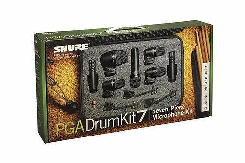 Kit de Micrófono SHURE PGA DRUMKIT 7