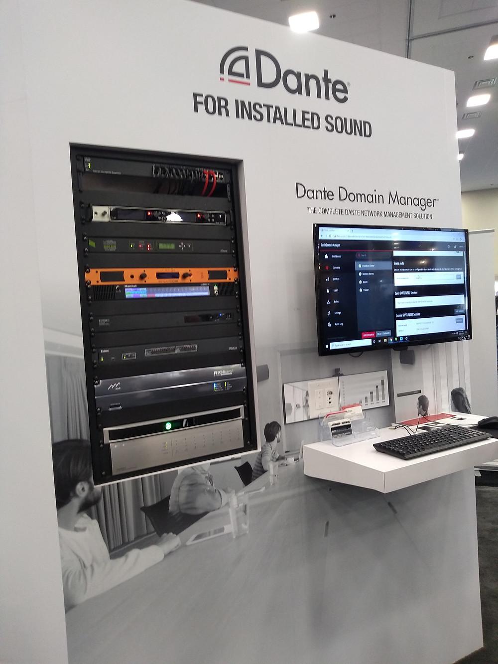 dante, audinate, soluciones de audio, audio instalado