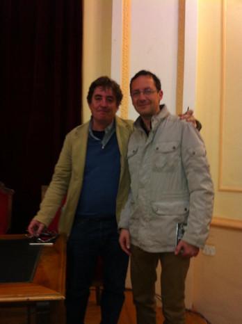 Con Luís García Montero