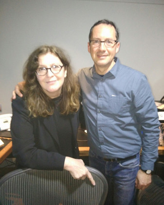 Con Rosa León