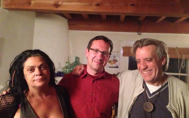 Con Luís Pastor y Lourdes Guerra
